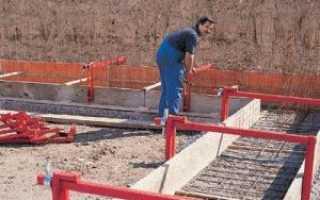 Ленточный фундамент под баню: достоинства, типы почв, инструкция от подготовки до застывания, конструкции