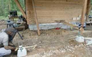 Устройство фундамента под баню: виды грунта и основания, инструкция по возведению, правила безопасности, секреты