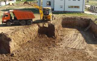 Как выкопать фундамент под дом своими руками?