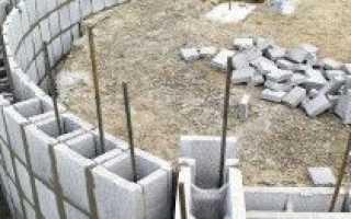 Фундамент под блочный дом: этапы возведения, советы