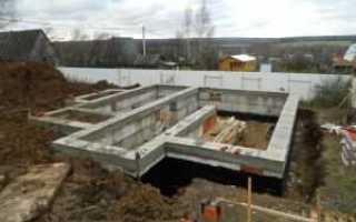 Фундамент с подвалом: ремонт, расчет глубины заложения