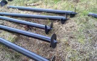 Монтаж винтовых свай: способы и порядок установки