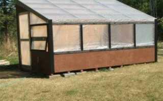 Фундамент под теплицу из поликарбоната: виды, особенности, инструкция по строительству, советы