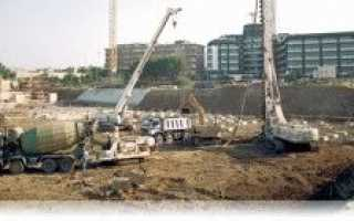Фундаменты глубокого заложения: виды и технологии постройки
