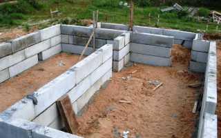 Фундаментные блоки: размеры по ГОСТ