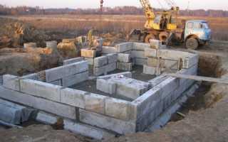 Фундамент из блоков фбс: как укладывать блоки