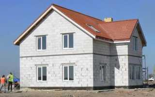 Какой фундамент лучше для дома из газобетона в 1 или 2 этажа