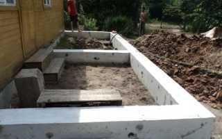Как сделать фундамент для пристройки к дому (кирпичному или деревянному)?