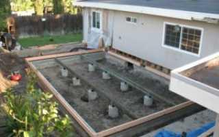 Фундаменты под пристройки к дому: деревянному, кирпичному, как их связать