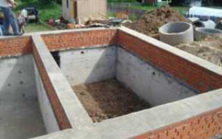 Погреб в доме с ленточным фундаментом: технология строительства подвала