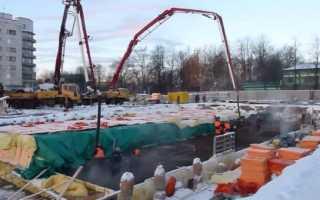 Прогрев бетона в зимнее время: основные способы