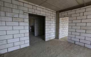 Фундамент под перегородки в доме: нужен ли он и как его сделать
