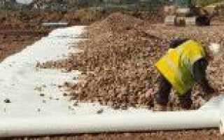 Чем заменить геотекстиль: для чего используется данный материал, виды, производство и применение