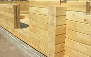 Замена фундамента под деревянным домом: особенности клееного бруса, инструкция по работе, варианты ремонта