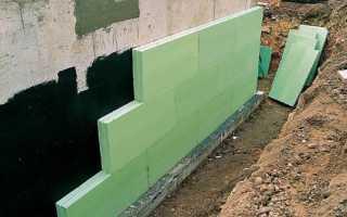 Чем утеплить фундамент дома снаружи и изнутри