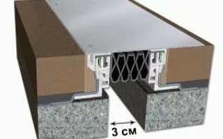 Температурные швы в бетоне: предназначение, технологии изготовления и разновидности