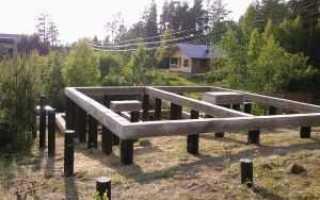 Cвайный фундамент с монолитным ростверком: устройство