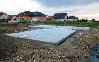 Плитный фундамент: плюсы и минусы