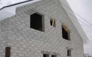 Фундамент для дома из пеноблоков своими руками: правильный подбор