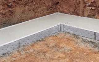 Фундамент под газобетон: плюсы и минусы блоков, типы, инструменты, инструкция по технологии возведения