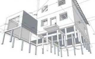 Проект свайного фундамента дома: рассчитать для частного дома, коттеджа