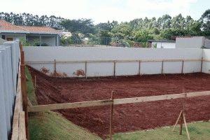 Подготовка земли под фундамент