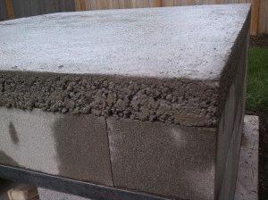 Высыхание бетона