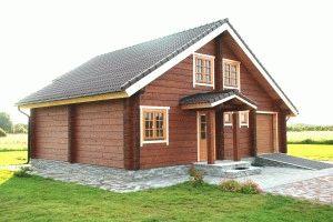 Дом с каменным фундаментом