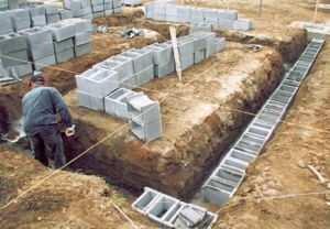 Применение пустотелых изделий для обустройства основания сооружения