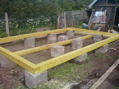 бетонные блоки