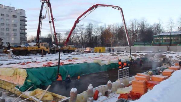 Создание термоса для бетона
